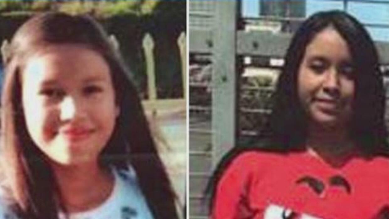 Policía y familiares buscan a dos niñas que desaparecieron luego de ir a...