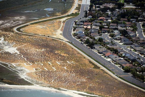 Así se ven las afueras de San Francisco, California desde un helicóptero...