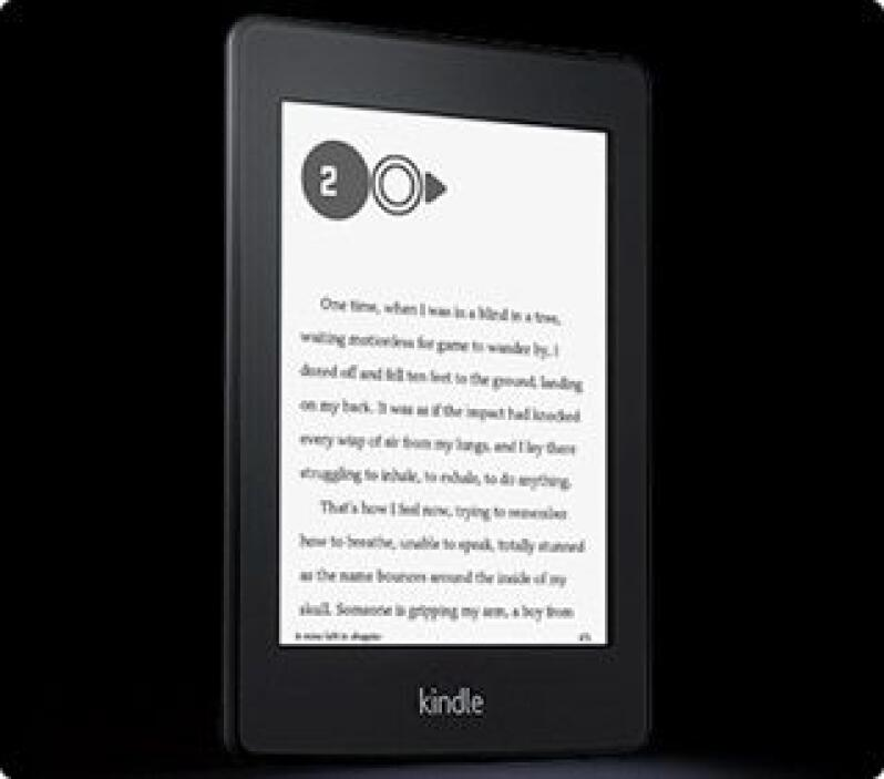 Kindle Paperwhite: este modelo viene con luz led integrada en la pantall...