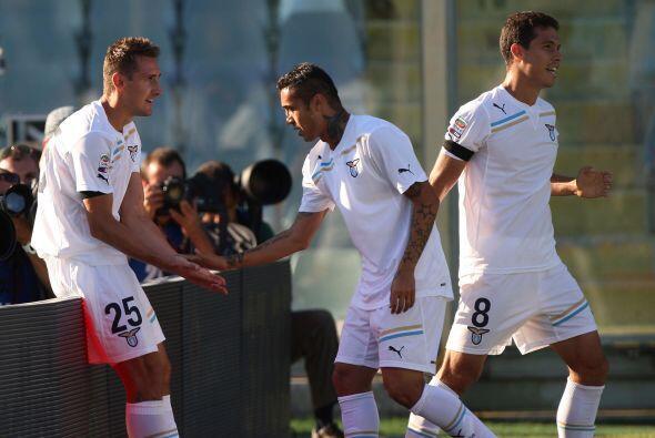 Triunfo importante, y de visitante, para la Lazio.