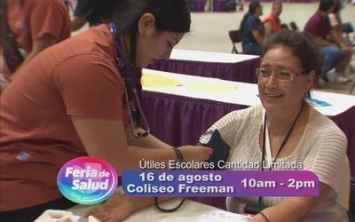 Feria de Salud de Univision, ¡no te la pierdas!