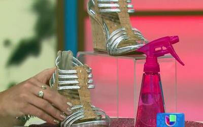 Moldea tus zapatos nuevos para que no te lastimen