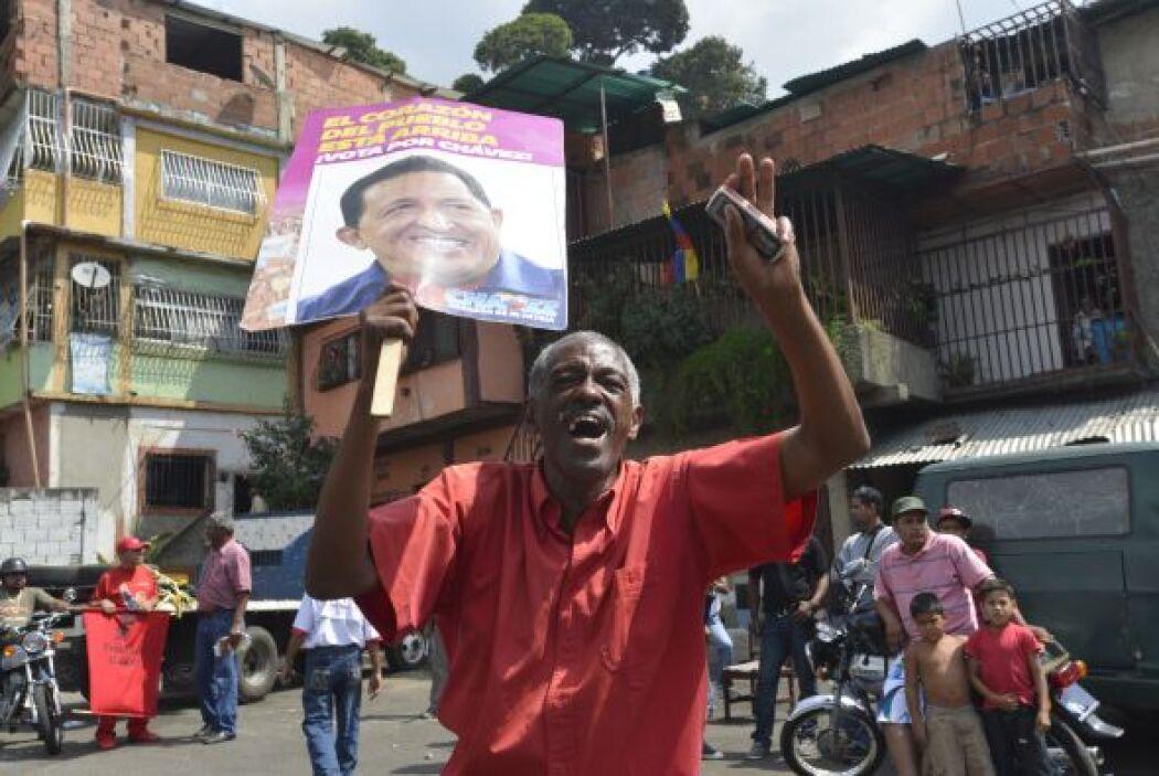 La manifestación fue convocada tras la decisión de la oposición de march...