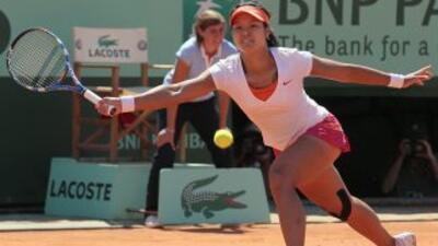 Li fue la verdugo de la rusa Sharapova, la veterana se coló a la final e...