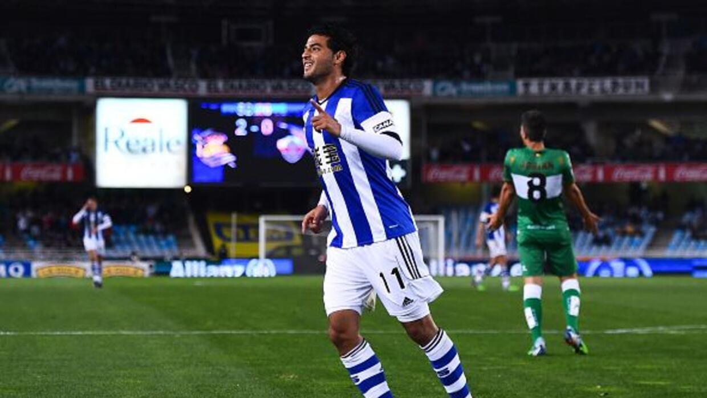 Carlos Vela fue designado mejor jugador de noviembre por encima de Messi...