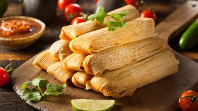 """Tamales en vez de pavo en el menú de """"Thanksgiving"""""""