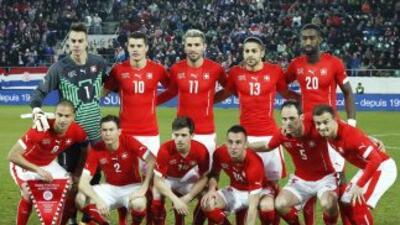 Selección Suiza.
