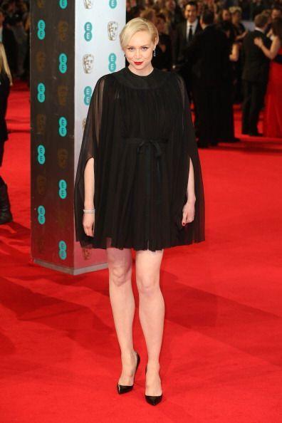 De las peores de los BAFTA de este año fue Gwendoline Christie, única y...