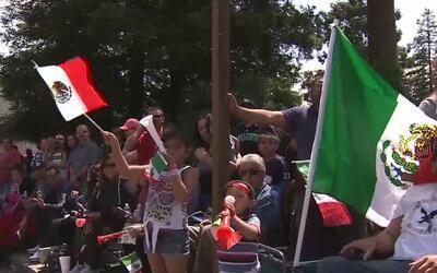 Stockton fue escenario de un traficional desfile con motivo del cinco de...