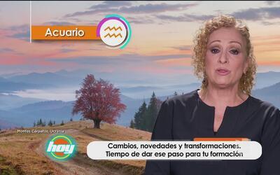 Mizada Acuario 27 de octubre de 2016