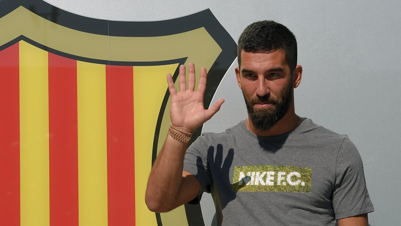 El turco ya se encuentra en Barcelona