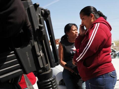El tema de la narcoviolencia en México preocupa seriamente a sus habitan...