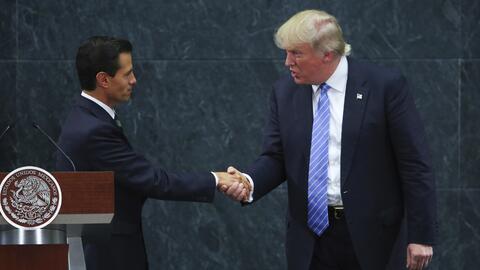 Encuentro entre Enrique Peña Nieto y Donald Trump