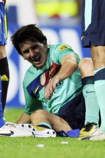 El marcador final fue de 2-1 ybarcelona se llevó el triunfo, pero Messi...
