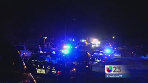 Oficial resultó herido en un tiroteo