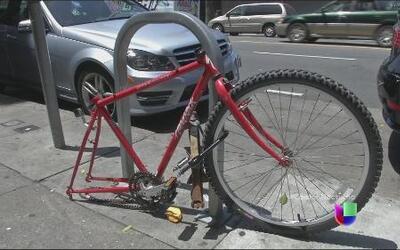 La policía enfrenta el creciente robo de bicicletas en San Francisco