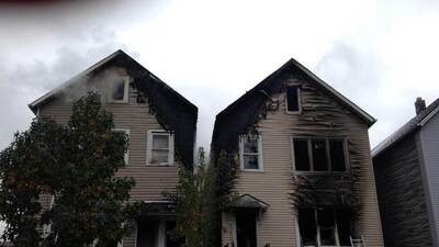 Incendio consume vivienda en Barrio de las Empacadoras