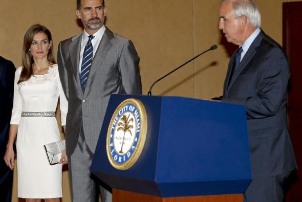Los príncipes de Asturias, Felipe y Letizia, no solo estuvieron en Univi...
