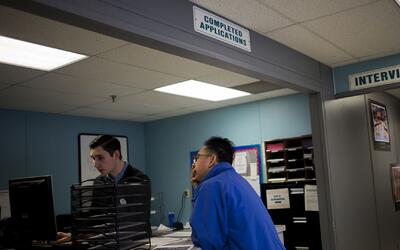 La tasa de desempleo en EEUU se mantiene estable