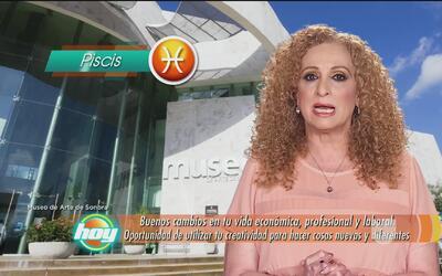 Mizada Piscis 25 de abril de 2017