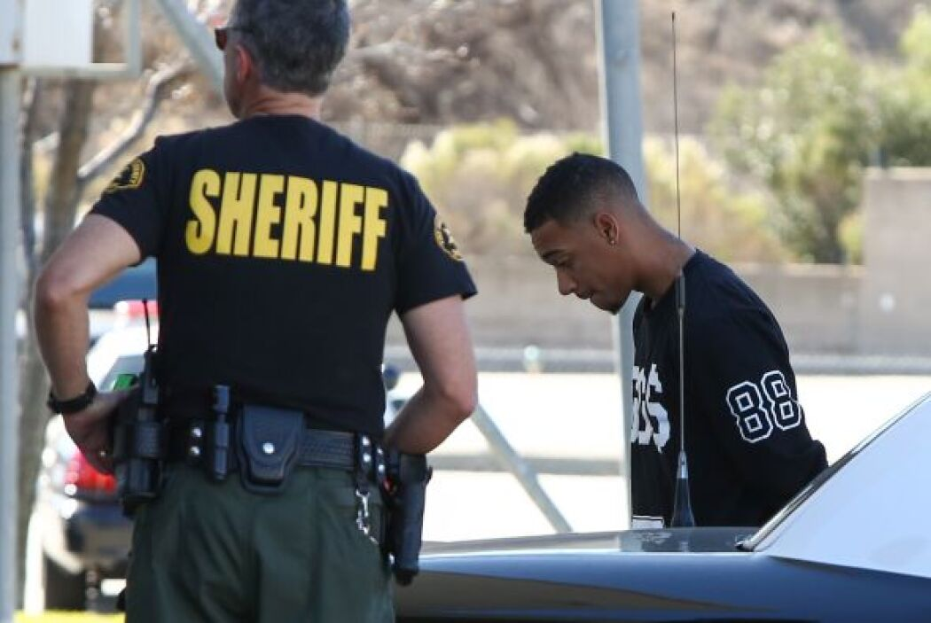 Ese día arrestaron a su amigo Lil' Za por posesión de cocaína.