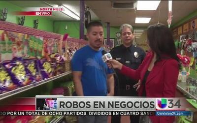 Pequeños negocios se preparan ante robos