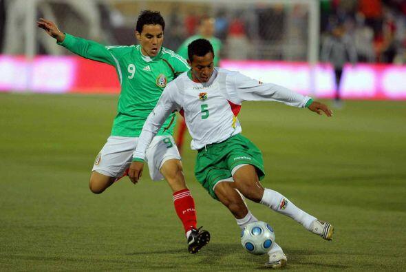 La primera goleada entre mexicanos y bolivianos se daría en el amistoso...