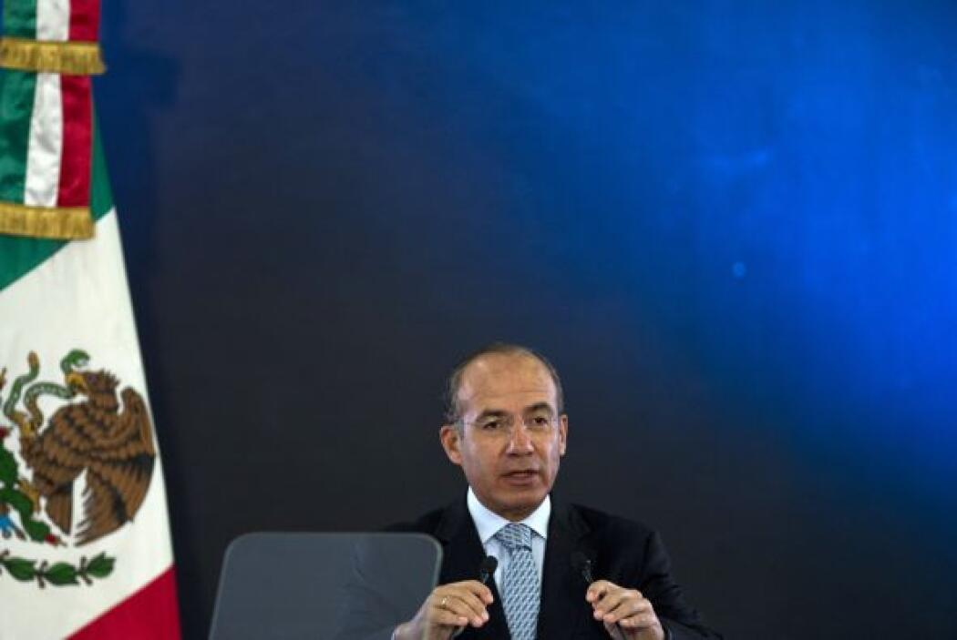 En su mensaje de felicitación, el presidente de México, Felipe Calderón,...