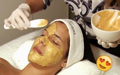 Estos son los novedosos tratamientos faciales preferidos de las estrella...