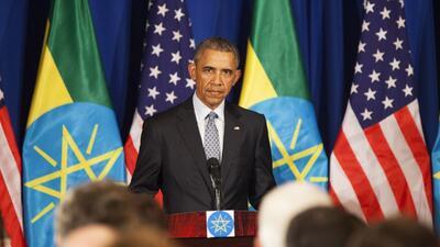 La visita de Barack Obama a Etiopía