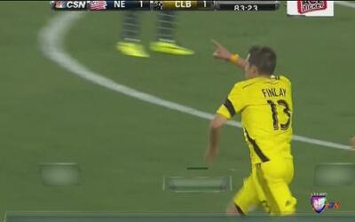 Columbus Crew venció 2 a 1 a New England en la MLS