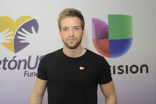 Pablo Alborán es parte del Teletón USA y llega convencido...