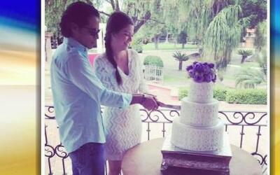 ¡Ana Patricia y Luis se comieron el pastel al otro día!