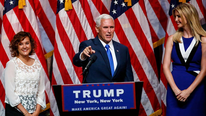 Mike Pence: Hillary Clinton nunca debe convertirse en presidente