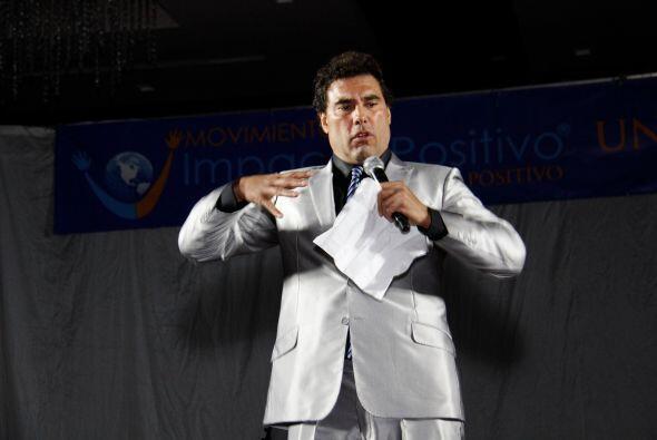 Por este motivo, el actor aceptó participar en el evento Impacto Positivo.