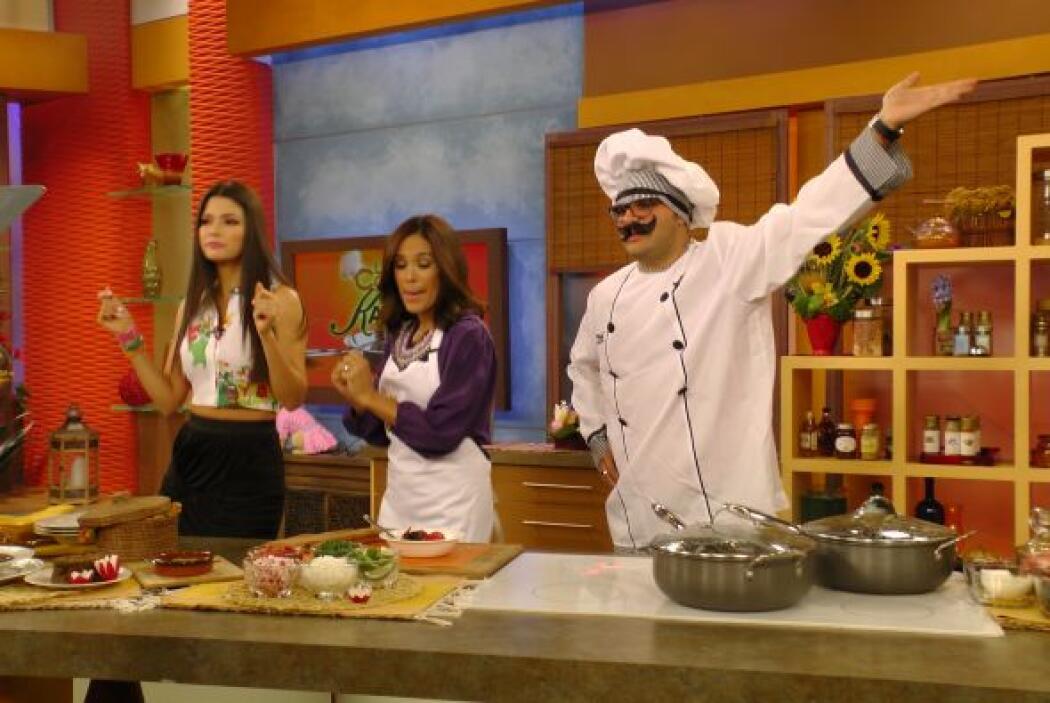 Descubrimos que según nuestro chef, puerco en italiano se dice 'tacher'....