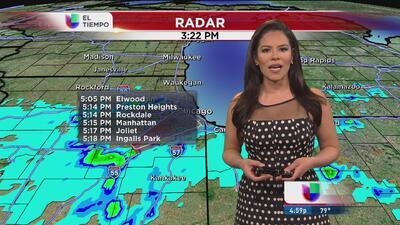 La presencia de lluvias llegará a Chicago
