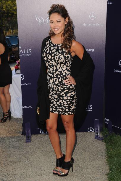 Vanessa Minnillo es una conductora de televisión, actriz y modelo...