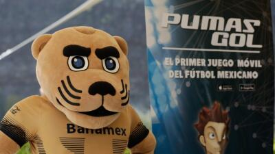 Pumas presentó su videojuego