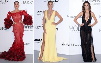 Muchos actores, cantantes y modelos se reunieron en Cannes para una suba...