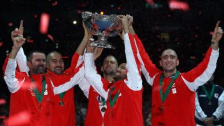 Antes de 2010, Serbia no había ganado nunca un sólo partido del grupo mu...
