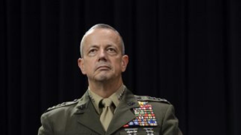 General Allen, nominado para comandante OTAN, se retira de Fuerzas Armadas.