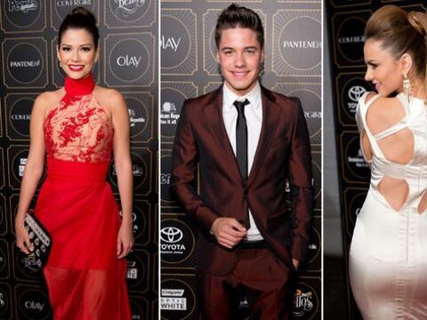 Ana Patricia, Alan, Ximena y William desfilaron muy guapos y elegantes e...