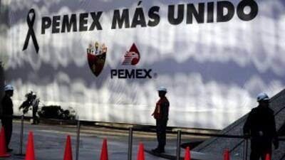 La sede principal de Pemex, en México DF.