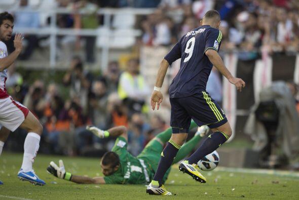 Pero el gol llegó gracias al delantero francés Karim Benzema.