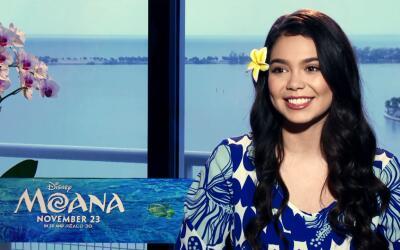 Entrevista con 'Moana'