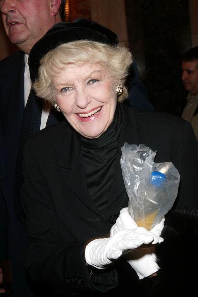 La comediante comenzó su carrera en Hollywood en la década de los '40 y...