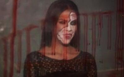 Transformación terrorífica: Carolina quedó para dar miedo