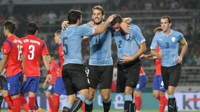 Los Charrúas ganaron su segundo partido consecutivo tras la Copa del Mun...