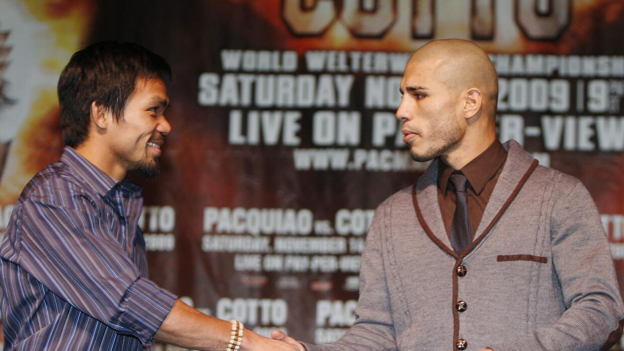 Pacquiao y Cotto.